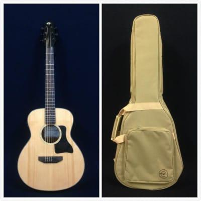 "Caraya P 301210 EQ 37"" Spruce Top Acoustic Guitar w/EQ +10mm Padded Bag, String Set for sale"