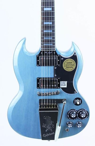 Epiphone Sg Custom With Maestro Electric Guitar Tv Pelham Reverb
