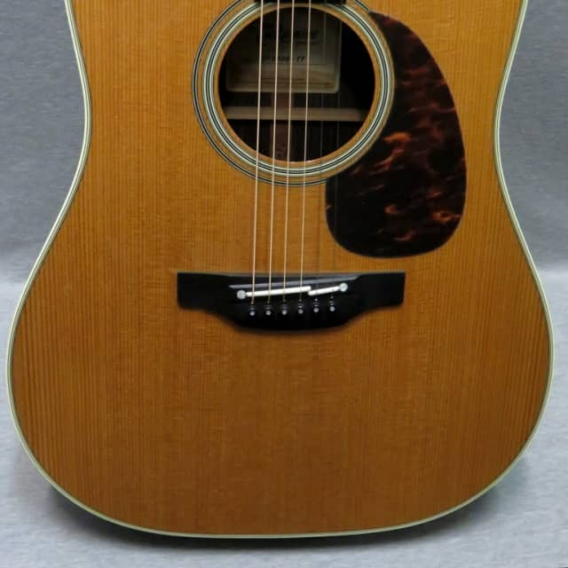 Takamine EF360S TT Acoustic Guitar with Electronics And Thermal Top / Finish Blem/ Hardshell Case image