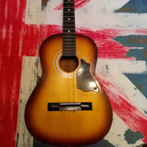 Trump TS27 Acoustic guitar 70's Golden Sunburst for sale