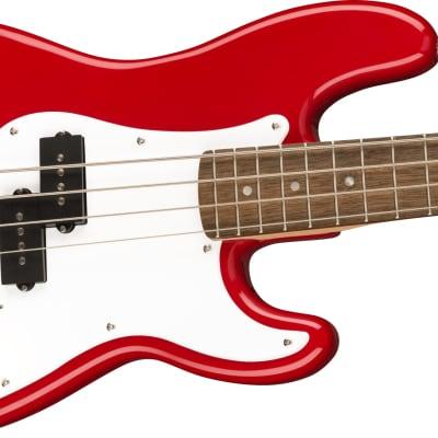 Squier Mini Precision Bass, Laurel Fb, Dakota Red