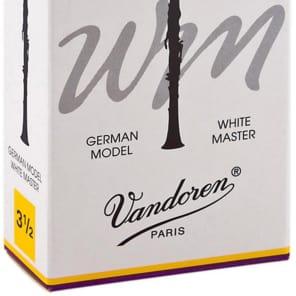 Vandoren CR1635 White Master Bb Clarinet Reeds - Strength 3.5 (Box of 10)
