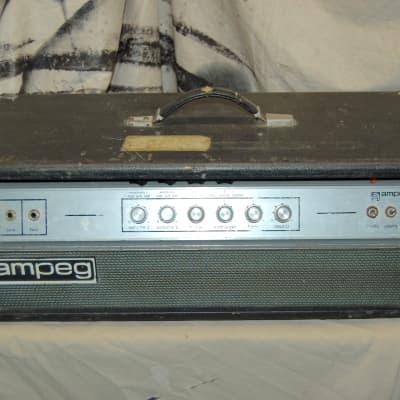 Ampeg V-4 V4 100-Watt Guitar Amp Head with Reverb 1970s