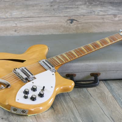 Vintage! 1966 Rickenbacker 360/12 12-String Electric Guitar Mapleglo ALL Original + OHSC for sale