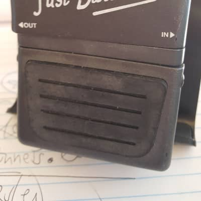 """Morley Just Distortion """"guitar pedal"""" 1990s gray"""
