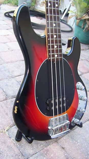 1993 ernie ball musicman sting ray bass guitar with reverb. Black Bedroom Furniture Sets. Home Design Ideas