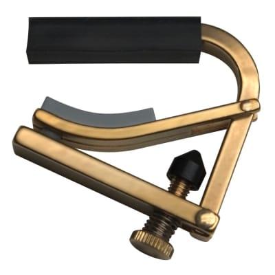 SHUBB Banjo Capo Brass C5b for sale