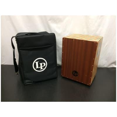 LP LP1423 3D Cube String Cajon w/ Carry Bag - Customer Return