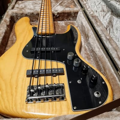 Fender American Marcus Miller Jazz 5 W/Sadowsky Pre '05 Natural Ash for sale