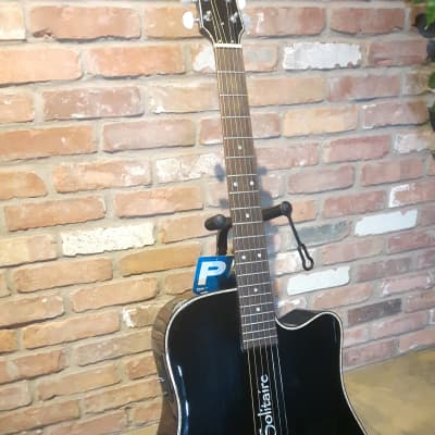Brand New Display Model Black Boulder Creek ECR1 Acoustic W/ Cutaway+Pickup for sale
