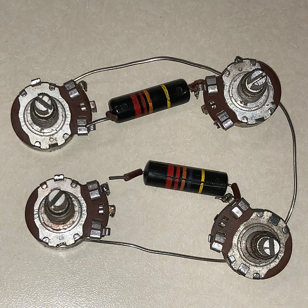 Vintage 1959 Gibson Les Paul Wiring Harness 500K Centralab     ReverbReverb