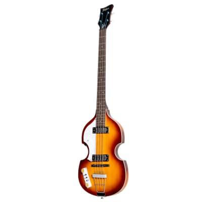 Hofner Ignition Pro Violin Bass Sunburst Left Handed HOF-HI-BB-PE-L-SB for sale