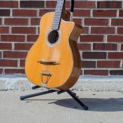 Antoine Dimauro Django Rond Bouche 40's/50's Gypsy Manouche Guitar for sale