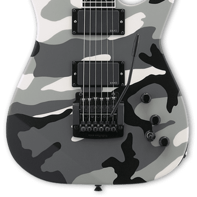 ESP Jeff Hanneman Signature Series Urban Camo w/case for sale