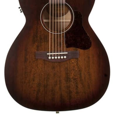 Art & Lutherie Legacy Concert Hall Acoustic Guitar with Godin Q1T - Bourbon Burst for sale