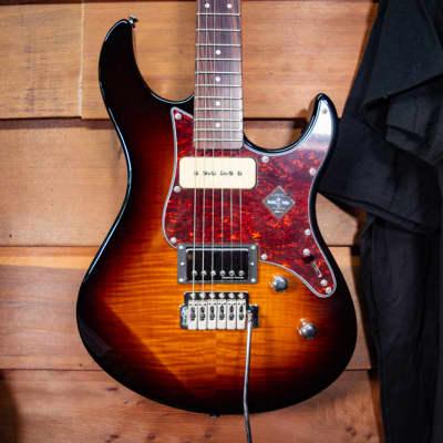 Yamaha Pacifica 611 Tremolo Electric Guitar Tobacco Brown Sunburst for sale