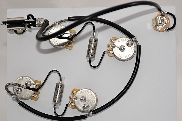 Es 335 Type Wiring Harness Cts 525k Rare 022 Uf Reverb