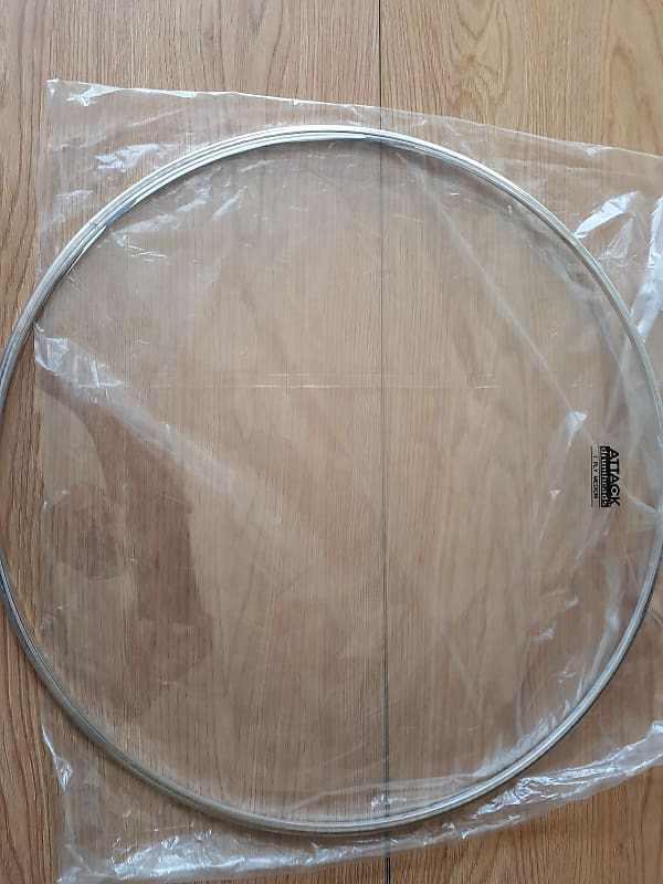 attack dha16 1 ply medium drum head 16 reverb. Black Bedroom Furniture Sets. Home Design Ideas