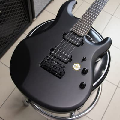 Sterling by Music Man JP 60 John Petrucci SBK Stealth Black - brand new! for sale