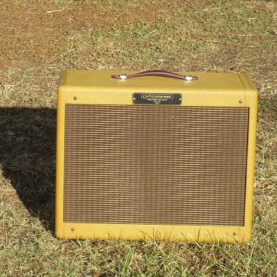 Carl's Custom Amps 1x12 Lacquered Tweed Deluxe Style Ext. Cab  Many speaker options! for sale