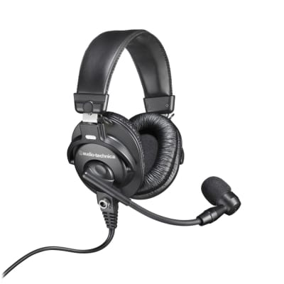 Audio Technica BPHS1 - Broadcast stereo headset with dynamic boom microphone