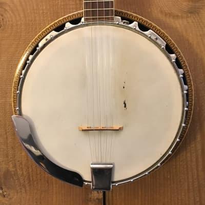 Madeira by Guild Vintage 5 String Resonator Banjo w/ OHSC c. 1980s for sale