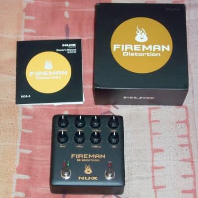 NuX Fireman Distortion Friedman BE-OD clone Marshall in a Box