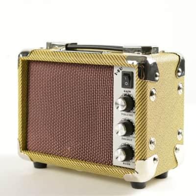 Ukulele Accessories, 5W Mini Amp Tweed