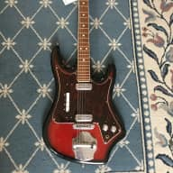 Elli Sound Electric Guitar 1960's Redburst for sale