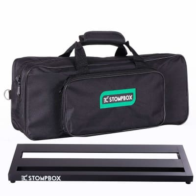 Ex Portable Aluminum Pedalboard w Soft Bag 20 Inches Free 2 Day Shipping