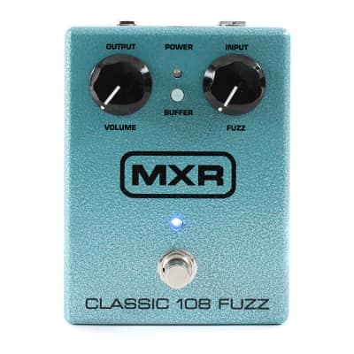 MXR M-173 Classic 108 Fuzz Guitar Stomp box Effect Pedal M173 Demo Open Box image
