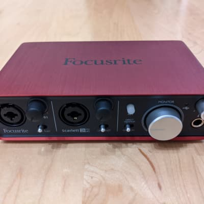 Focusrite Scarlett 2i2 USB Audio Interface (1st Gen)