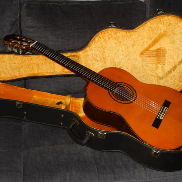 MADE IN 1976 - MAJESTIC ARANJUEZ 5 - KOHNO STYLE CLASSICAL GRAND CONCERT GUITAR image