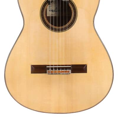 Antonio Raya Pardo Modelo Especial Negra w/Pegs 2012 Flamenco Guitar Spruce/Indian Rosewood for sale