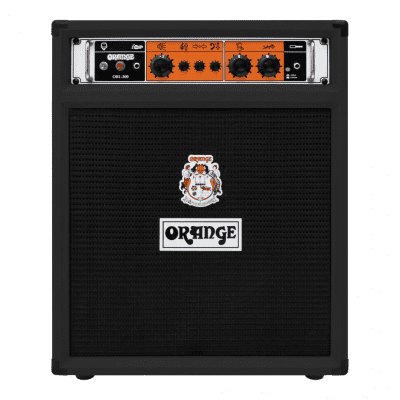 Orange OB1-300C-BK Combo (Black) Bi-Amp Bass 300W 1x15 Amplifier OB1-300 & V-Moda Headphones
