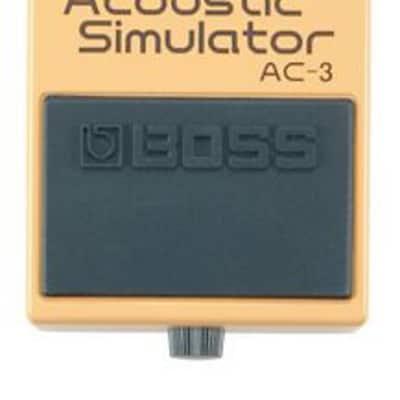 BOSS AC-3 Acoustic Simulator Pedal - Boss AC-3 Acoustic Simulator for sale