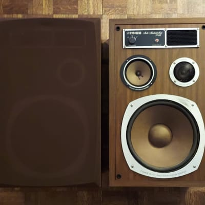 1975 Fisher Studio ST440 Speakers