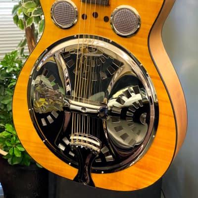 Epiphone Dobro Hound Dog Deluxe Round Neck Acoustic Guitar