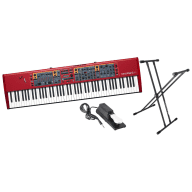 Nord Stage 2 EX88 88-Key Stage Piano Bundle