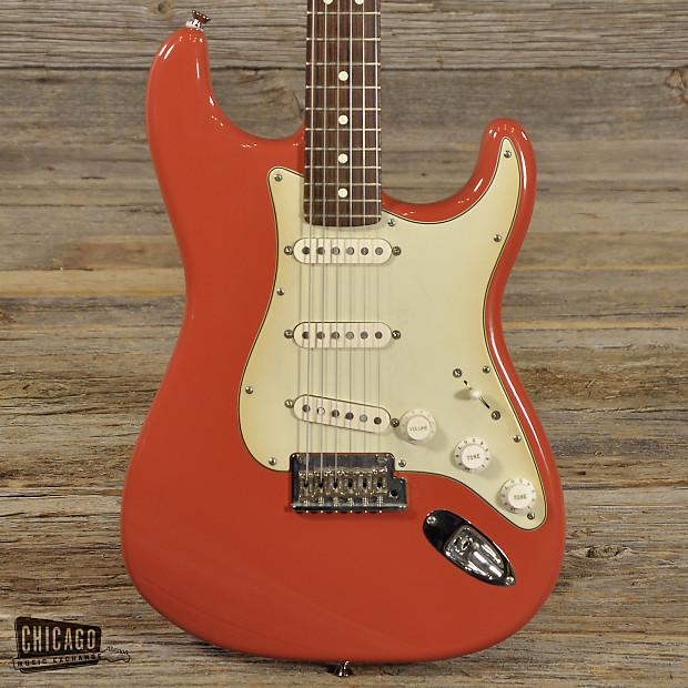 fender fsr american standard stratocaster fiesta red used reverb. Black Bedroom Furniture Sets. Home Design Ideas
