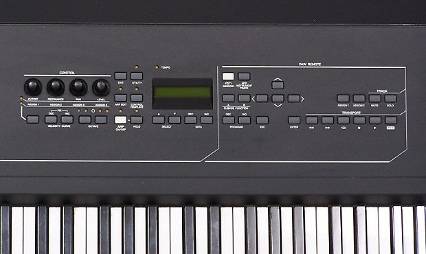 yamaha kx8 usb keyboard studio 88 weighted key midi reverb. Black Bedroom Furniture Sets. Home Design Ideas
