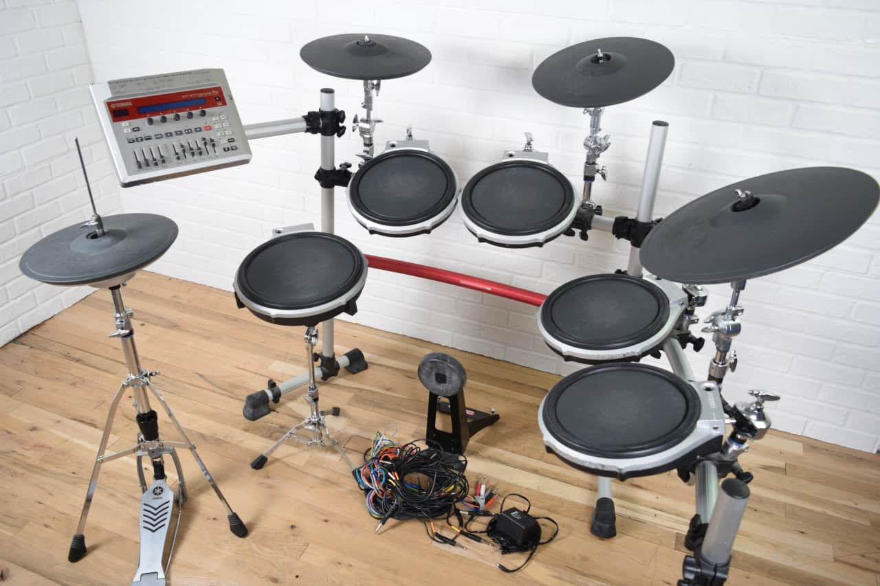 Yamaha dtxtreme iis electronic drum set kit awesome used for Yamaha electronic drum kit for sale