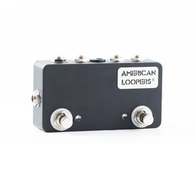 AMERICAN LOOPERS 2CH True Bypass Looper With PREMIUM Switches - Two (2) Loops