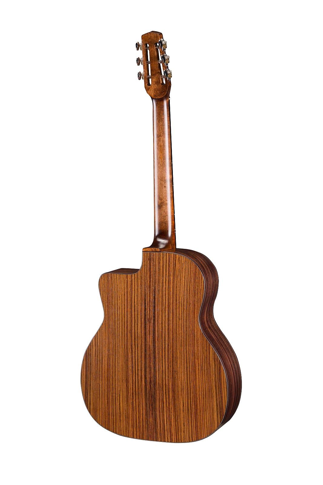 Eastman DM1 Gypsy Jazz Acoustic Guitar Natural w/ Gig Bag