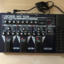 Bass Effects Pedal board