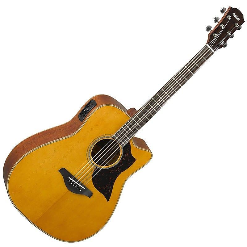 yamaha a1m acoustic electric guitar vintage natural reverb. Black Bedroom Furniture Sets. Home Design Ideas