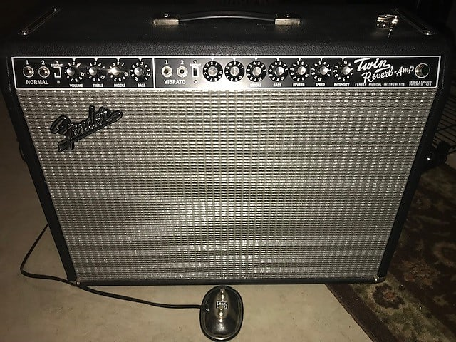 Fender Twin Reverb Blackface Handwired PTP AB763 Custom Eminence Delta Pro  12a