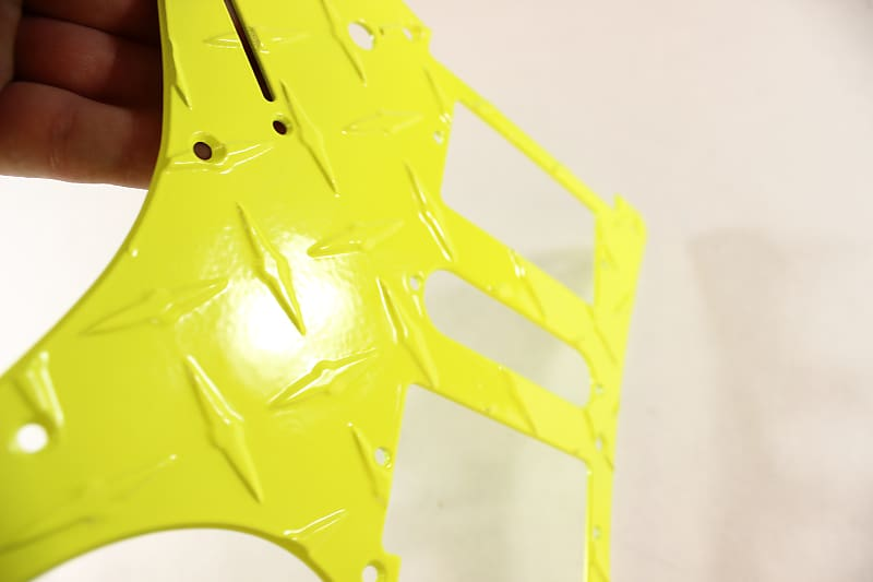 Replacement pickguard fits RG550 RG  Fluorescent Neon Yellow HSH