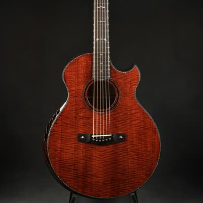 Ryan Cathedral Grand Fingerstyle - Fiddleback Mahogany/NAMM Instrument for sale