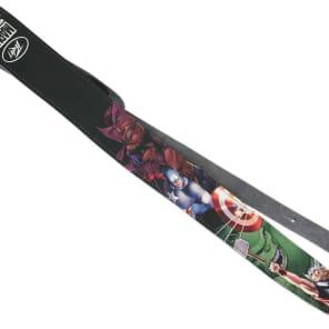 Peavey 3016030 Marvel Avengers Leather Guitar Strap